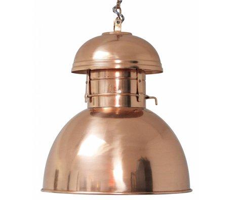 """HK-living Sanayi asılı lamba """"Depo"""" L, bakır, metal, Ø42cm"""