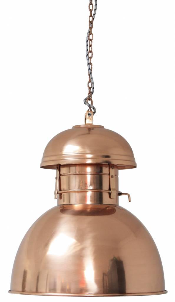 hk living industrial hanging lamp warehouse l copper. Black Bedroom Furniture Sets. Home Design Ideas
