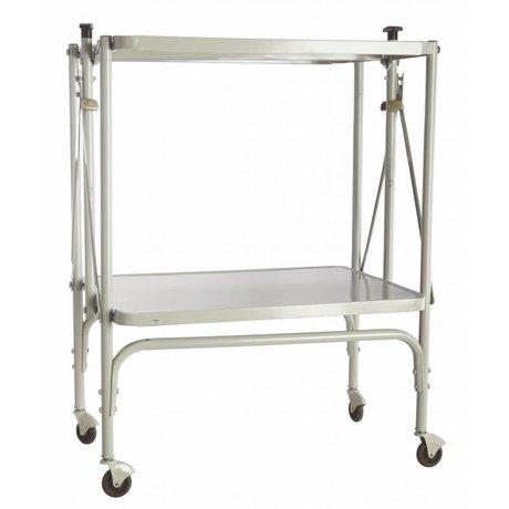 Housedoctor Metal, katlanabilir, açık gri, 40x53.5x75cm Arabası 'düzeltme'