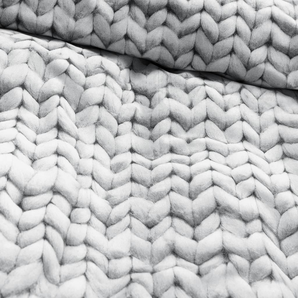 linge de lit snurk Snurk Linge Twirre, flanelle, gris, disponible en 3 tailles  linge de lit snurk