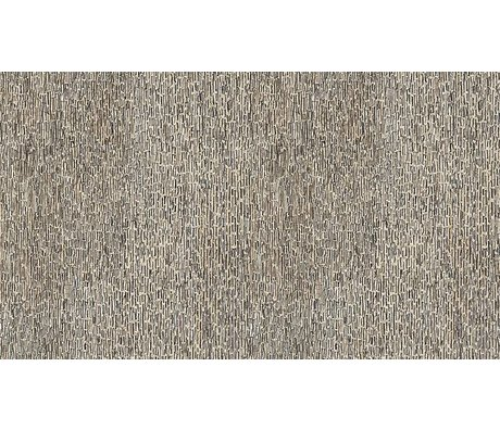 NLXL-Arthur Slenk Tapete 'Remixed 8' aus Papier, creme/schwarz, 900x48.7cm