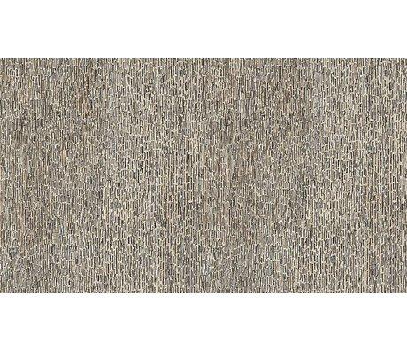 NLXL-Arthur Slenk Wallpaper 'Remixed 8' of paper, cream / black, 900x48.7cm