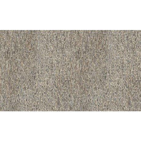 """NLXL-Arthur Slenk Wallpaper """"Remixed 8 'de papier, crème / noir, 900x48.7cm"""