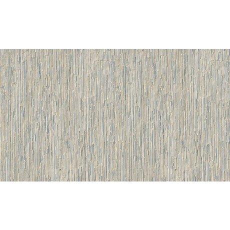 NLXL-Arthur Slenk Wallpaper 'Remixed 7' af papir, creme / blå, 900x48.7cm
