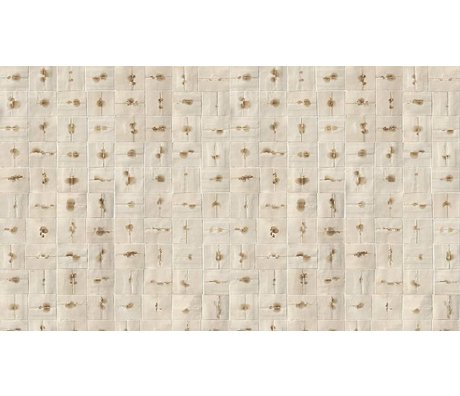 NLXL-Arthur Slenk Wallpaper 'Remixed 6' kağıt, krem / kahverengi, 900x48.7cm arasında
