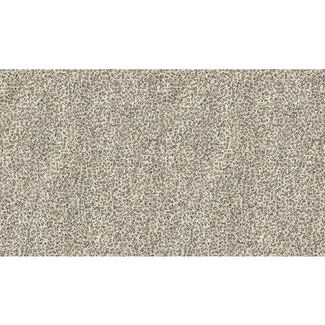 NLXL-Arthur Slenk Wallpaper 'Remixed 4' di carta, crema / nero, 900x48.7cm