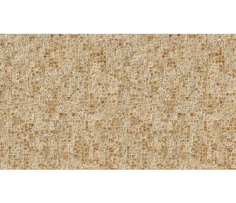 NLXL-Arthur Slenk Wallpaper 'Remixed 2' of paper, cream / brown, 900x48.7cm