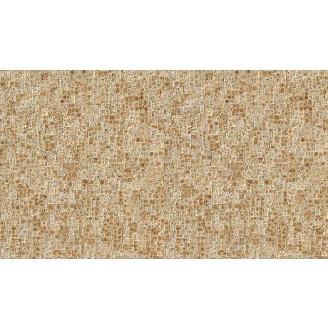 NLXL-Arthur Slenk Wallpaper 'Remixed 2' di carta, crema / marrone, 900x48.7cm