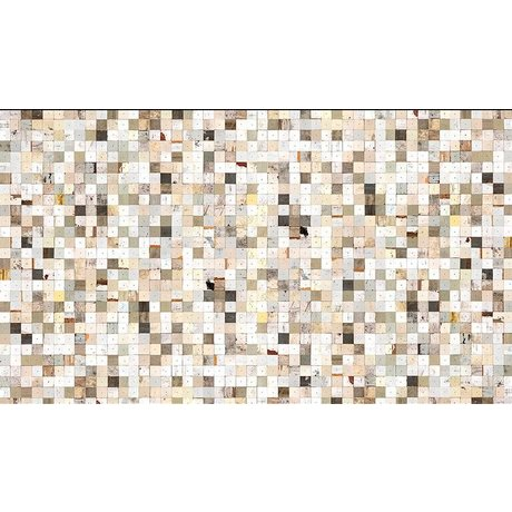 "Piet Hein Eek Wallpaper 'Scrapwood 16 ""paper, white / brown, 900 x 48.7 cm"