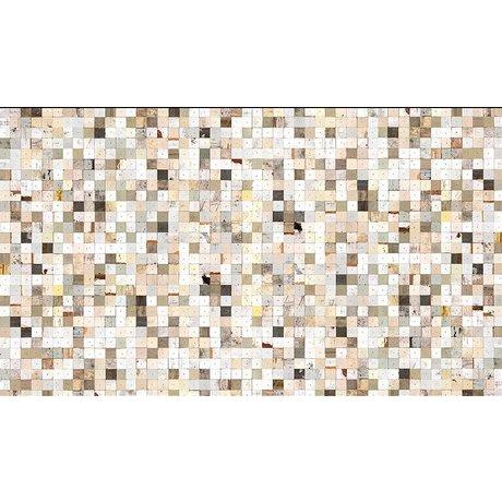 "Piet Hein Eek Wallpaper 'Scrapwood 16 ""paper, white / brown, 900 x 48.7 cm"