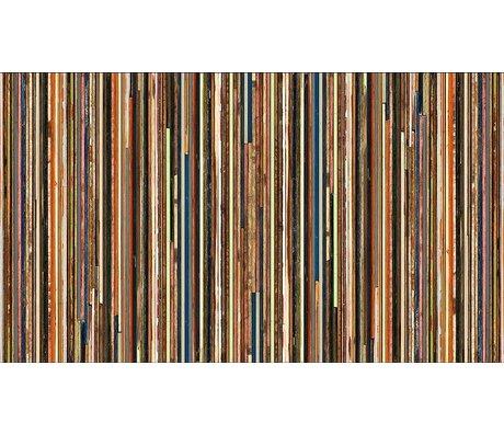 "Piet Hein Eek Wallpaper 'Scrapwood 15 ""kağıt, renkli, 900 x 48.7 cm"