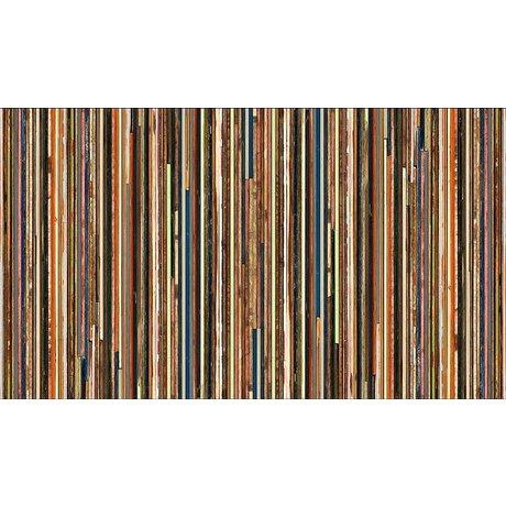 "Piet Hein Eek Fondo de pantalla de papel 'Scrapwood 15 "", multicolor, 900 x 48,7 cm"