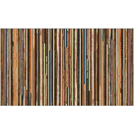 "Piet Hein Eek Wallpaper 'Scrapwood 15 ""-papir, flerfarvet, 900 x 48,7 cm"