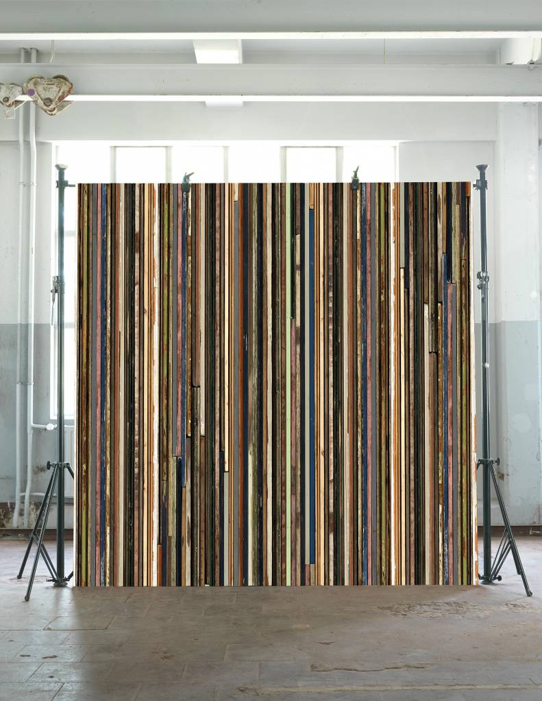 piet hein eek fondo de pantalla de papel 39 scrapwood 15 multicolor 900 x 48 7 cm. Black Bedroom Furniture Sets. Home Design Ideas