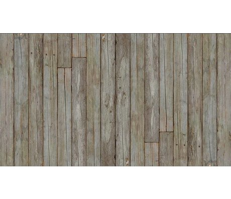 "Piet Hein Eek Wallpaper 'Scrapwood 14 ""paper, gray / brown, 900 x 48.7 cm"
