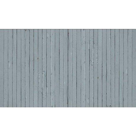 """Piet Hein Eek Scrapwood 12 papier Wallpaper """", gris / bleu, 900 x 48,7 cm"""