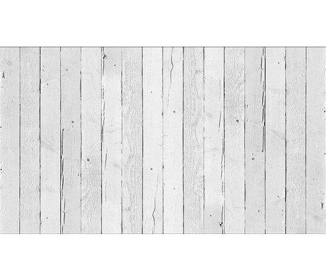"""Piet Hein Eek Tapete 'Scrapwood 11"""" aus Papier, weiß, 900 x 48,7 cm"""