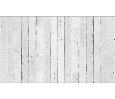 "Piet Hein Eek Wallpaper 'Scrapwood 11 ""kağıt, beyaz, 900 x 48.7 cm"