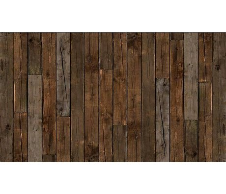 "Piet Hein Eek Papel Wallpaper 'Scrapwood 10 "", marrón, 900 x 48,7 cm"