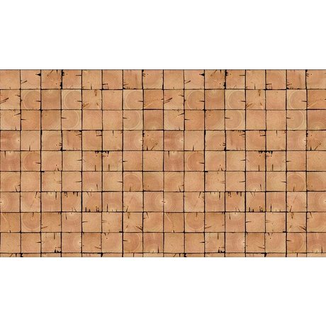 "Piet Hein Eek Wallpaper 'Scrapwood 9 ""kağıt, kahverengi, 900 x 48.7 cm"