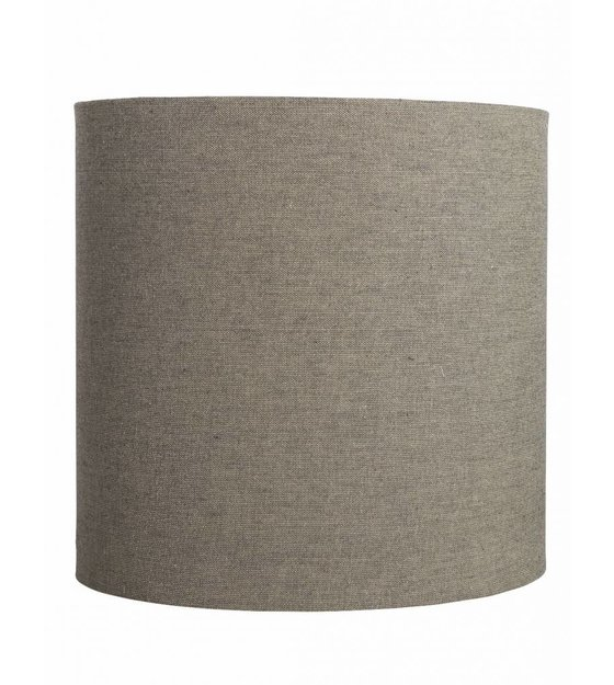 housedoctor lampshade fine of cotton gray brown. Black Bedroom Furniture Sets. Home Design Ideas