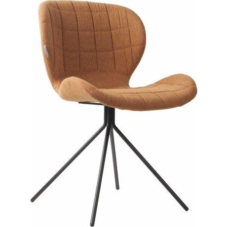 Zuiver Yemek sandalye OMG, deve kahverengi, 50x56x80cm