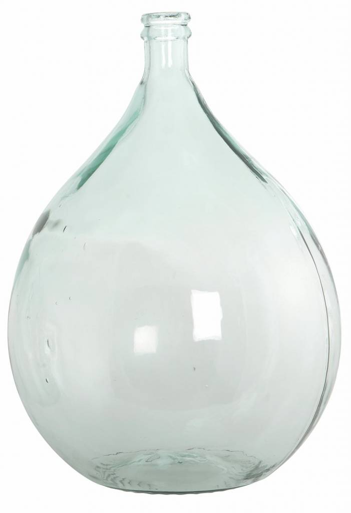 housedoctor bottle vase from 100 recycled glass 40cm h56cm 34 liters. Black Bedroom Furniture Sets. Home Design Ideas