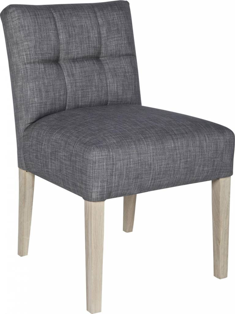 dining room chair mare taupe gray 83x63x52cm lef collections dining