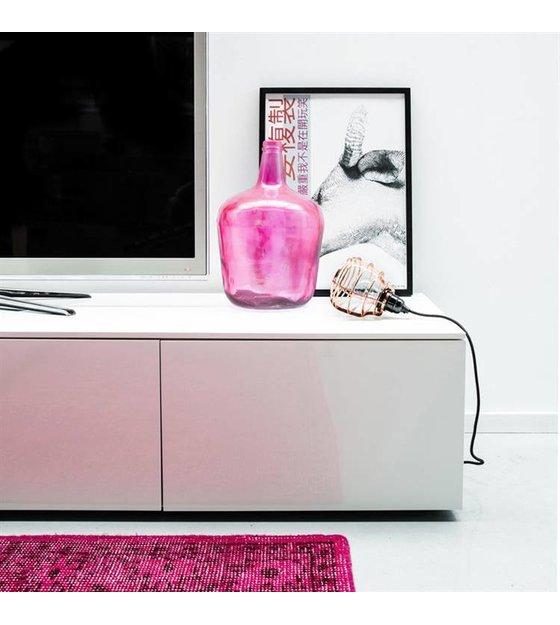 hk living h ngelampe lab mit stecker aus metall gr n. Black Bedroom Furniture Sets. Home Design Ideas