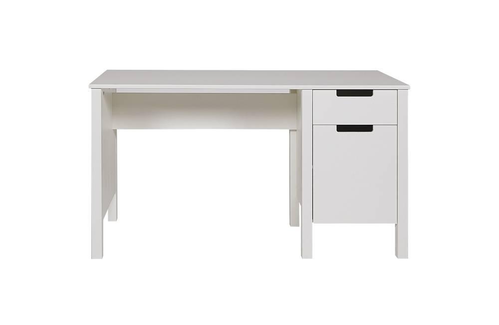 Lef collections escritorio 39 jade 39 de pino blanco - Escritorio de pino ...