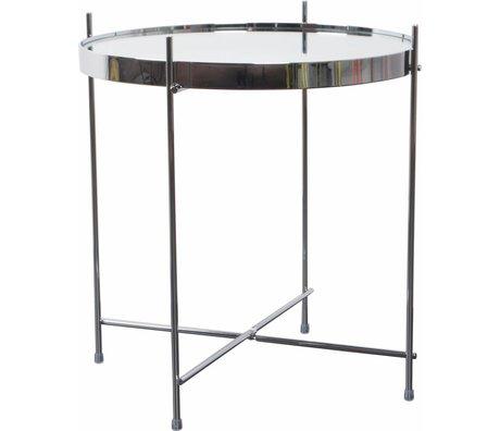 """Zuiver Tableau """"Cupidon"""" de métal, argent, Ø43x45cm"""