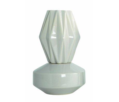 "Housedoctor Vase ""VIP"", sand color, Ø13, 5x21cm"