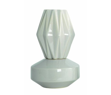 "Housedoctor Vase ""VIP"", sand farve, Ø13, 5x21cm"
