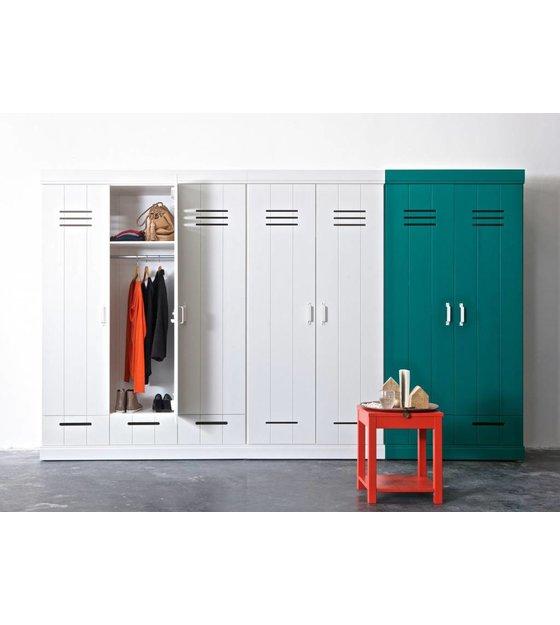 Kleiderschrank kreativ  LEF collections Kleiderschrank 'Connect' mit 3 Türen und ...
