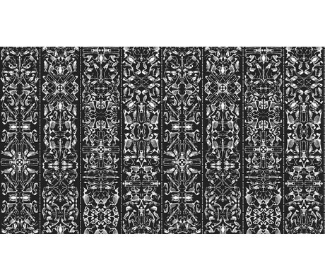 "NLXL-Studio Job Wallpaper ""Perished 03""-papir, sort / hvid, 900x48.7cm"