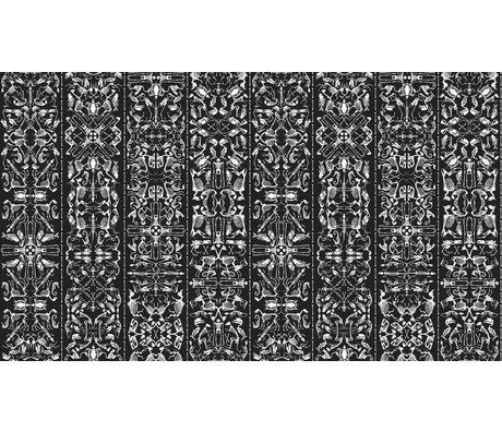 "NLXL-Studio Job Wallpaper ""Perished 03""-papir, sort / hvid, 900x48.7cm"