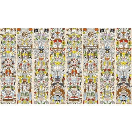"NLXL-Studio Job Wallpaper ""Gamle tyske 04""-papir, 900x48.7cm"