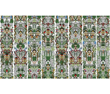 "NLXL-Studio Job Wallpaper ""l'Afrique 05"" di carta, 900x48.7cm"