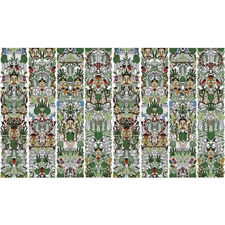 """NLXL-Studio Job Tapete """"l'Afrique 05"""" aus Papier, 900x48.7cm"""