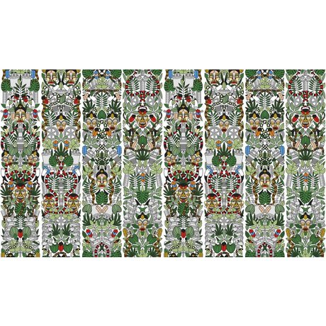 """NLXL-Studio Job Wallpaper """"l'Afrique 05""""-papir, 900x48.7cm"""