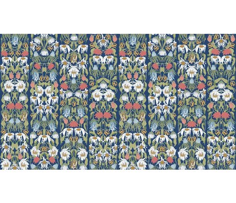 "NLXL-Studio Job La carta da parati ""fiori appassiti color 07"", 900x48.7cm"