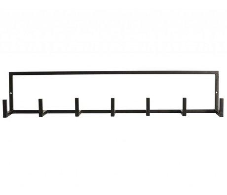 """Housedoctor Metal, siyah, 60x12cm Gardrop """"raf"""""""