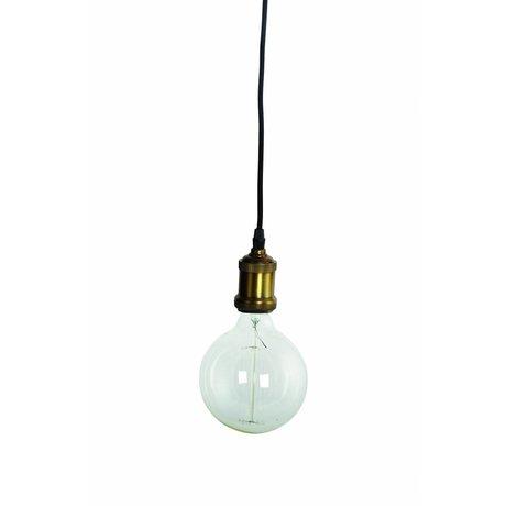Housedoctor , Ø4,5x14cm asılı lamba, pirinç / altın Fly