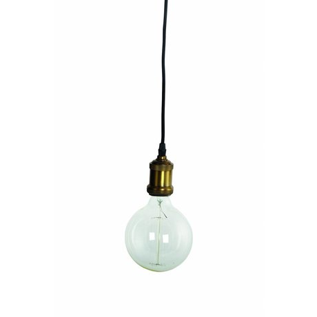 Housedoctor Fly lámpara colgante, bronce / oro, Ø4,5x14cm