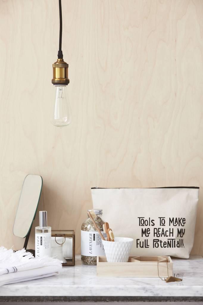housedoctor flyv h ngende lampe messing guld 4 5x14cm. Black Bedroom Furniture Sets. Home Design Ideas