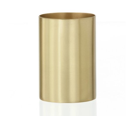 "Ferm Living Becher/Stifthalter ""BRASS CUP"" aus Messing Ø6x9cm"