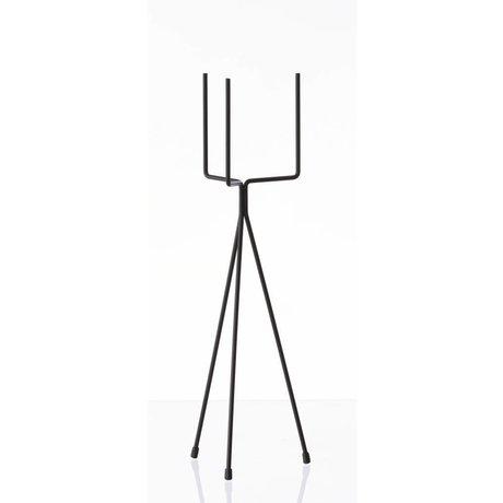 Ferm Living Sebze raf `BİTKİ Siyah Küçük 'metal, Ø13x50cm STANDI