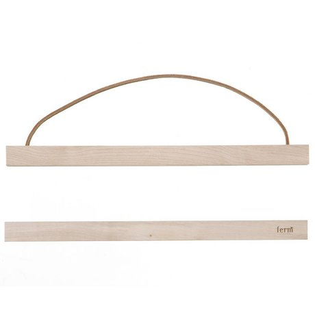 Ferm Living Suspension system for Poster 'MAPLEWOOD `of wood, 31x2 cm