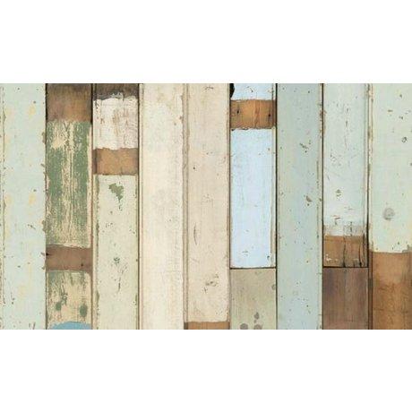 Piet Hein Eek Carta da parati di legno 03