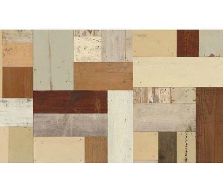 Piet Hein Eek Carta da parati di legno 06